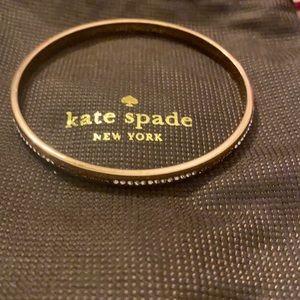 Kate spade rose gold friends bangle